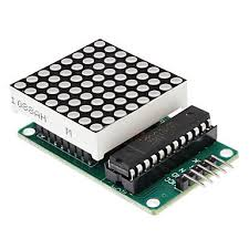 MAX7219 8X8 LED Dot Matrix Module