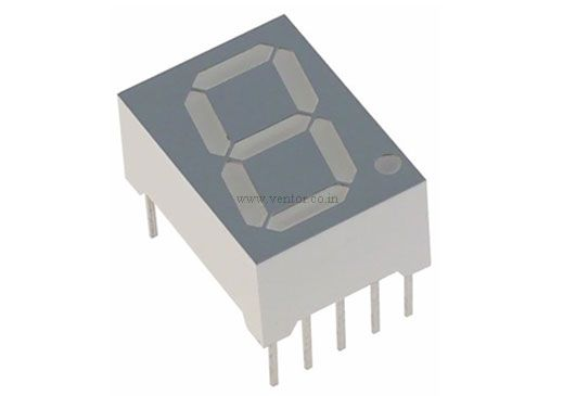7-Segment Display Common Anode (Parrot Green) - Click Image to Close
