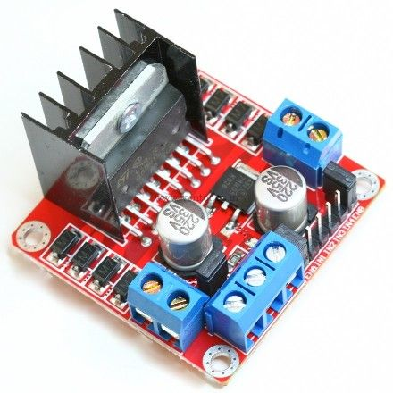 L298N Based 2A Motor driver Board - Click Image to Close