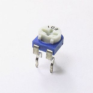 1K ohm Potentiometer with dust cap - Click Image to Close