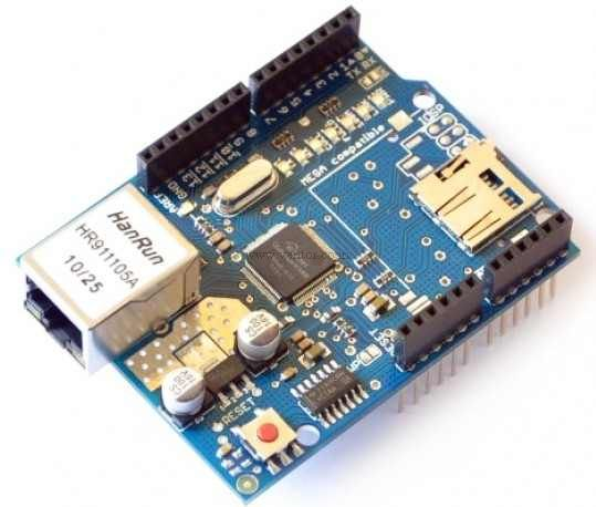 Ethernet Shield W5100 for Arduino - Click Image to Close