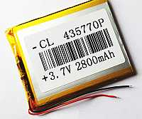 Lithium Ion Polymer Battery-2800mAh-3.7V