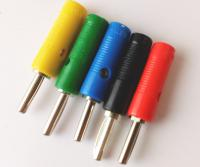Banana Plug Male Connector 5Pcs