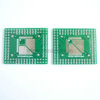 QFP/FQFP/LQFP/TQFP32/44/64/80/100 0.5/0.8MM Pitch IC adapter PCB