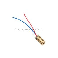 Laser Diode RED-650nm-5V-6mm-5mW